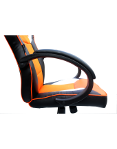 Кресло Trident GK-0808 Black and Orange