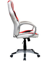 Кресло Trident GK-0202 White and Red